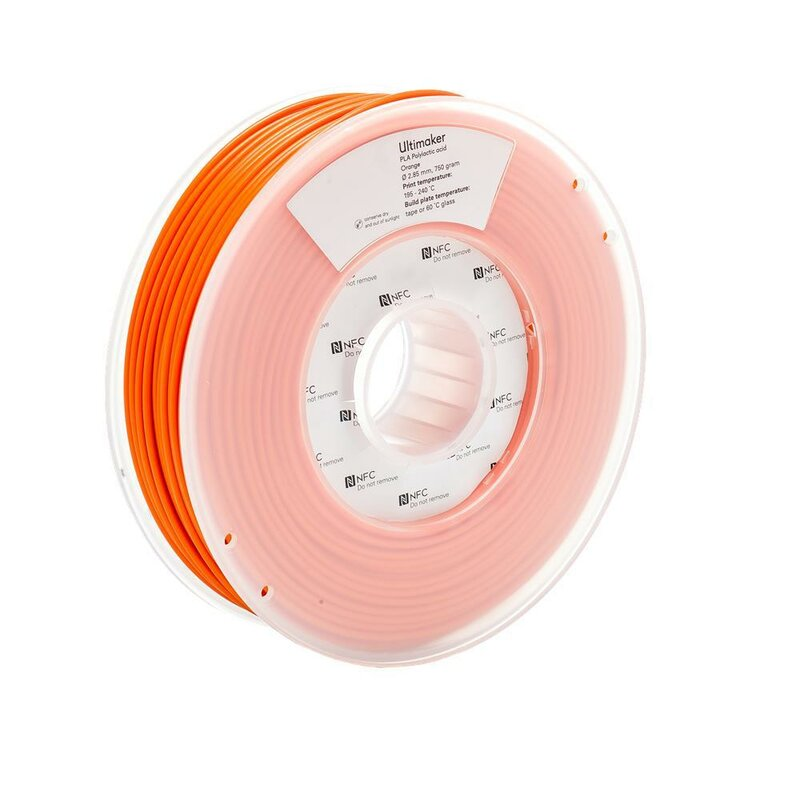 Ultimaker PLA Orange 2,85 mm 750 g