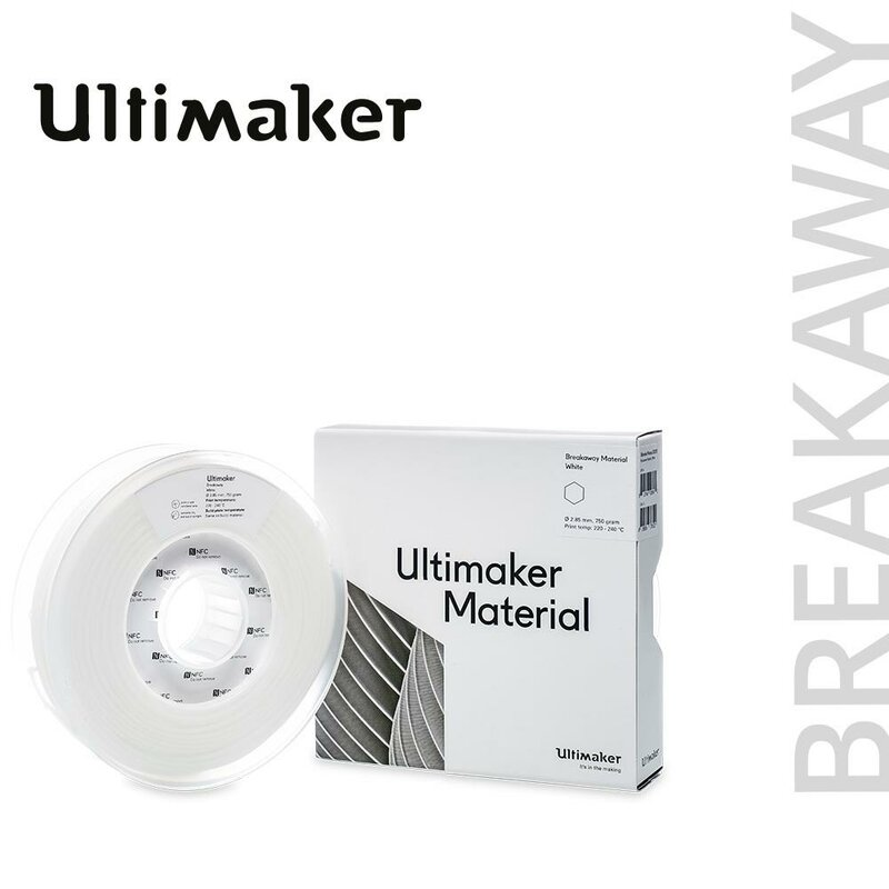 Ultimaker Breakaway Supportmaterial 2,85 mm 750 g