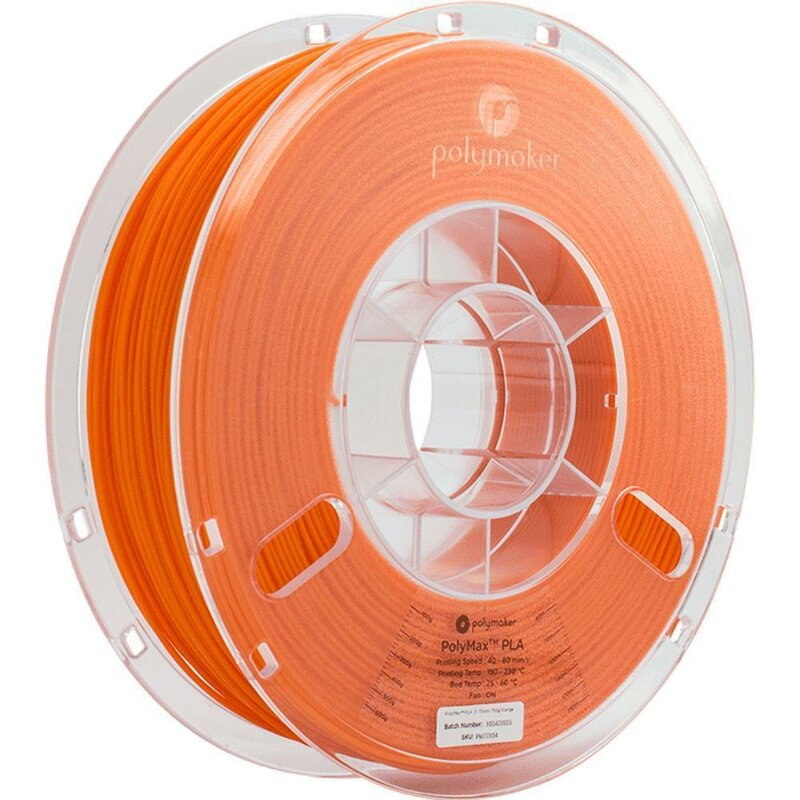 Polymaker PolyMax PLA Orange 2,85 mm 750 g