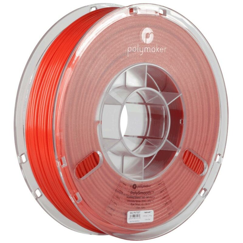 Polymaker PolySmooth Rot 2,85 mm 750 g