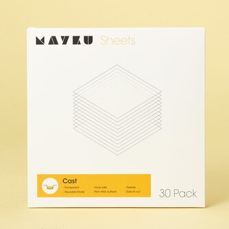 Mayku Cast Clear Sheets 0,5 mm (30 Pack)
