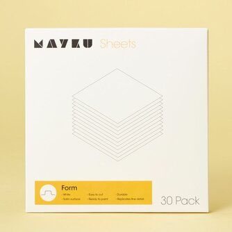 Mayku Form White Sheets 0,5 mm (30 Pack)