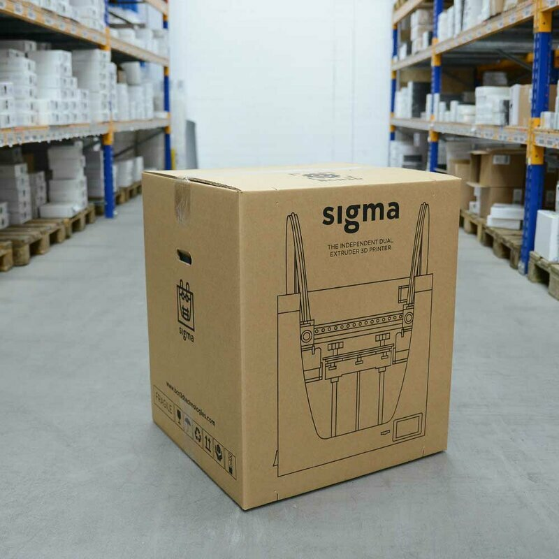 BCN3D Sigma R19 Box Assembly