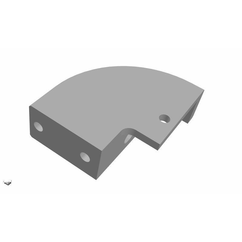 Ultimaker Hinge Mount S3