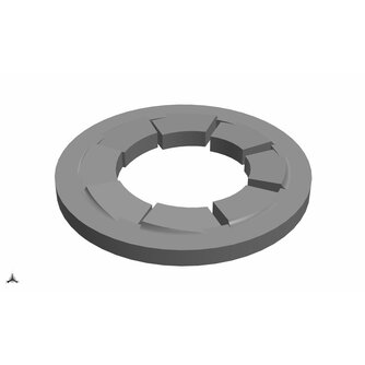 Ultimaker M3 Serrated Lock Washer S3