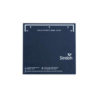 Sindoh Build Plate Sticker WOX1