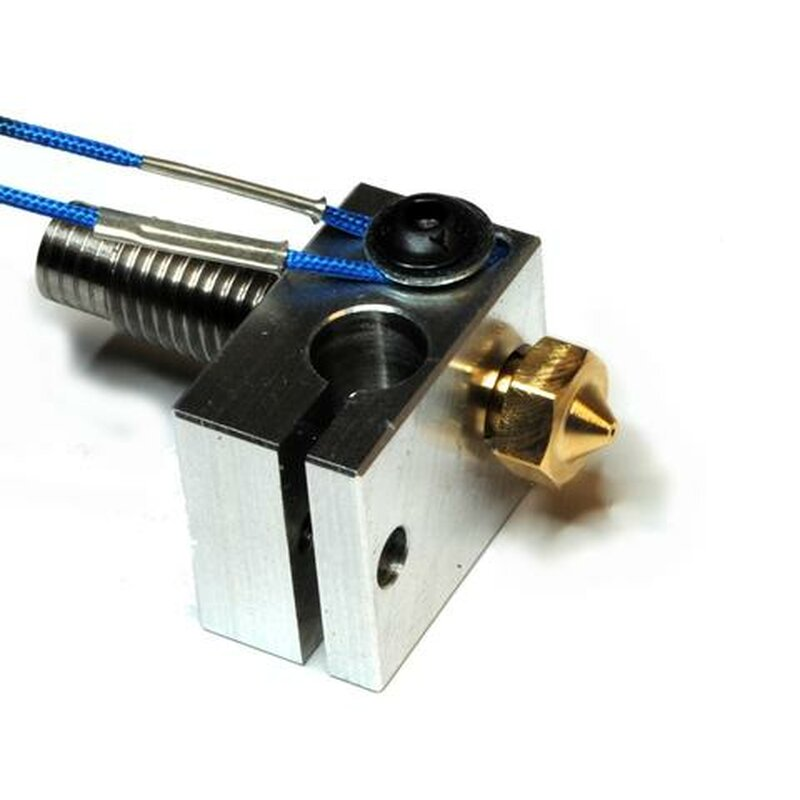 E3D V6 Heater Block & Fixings (Thermistor Klemme)