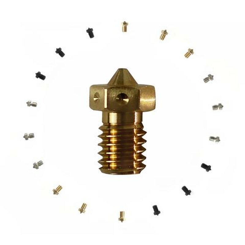 E3D V6 Plated Copper Nozzle